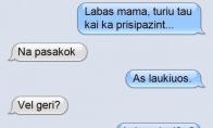 Anūkų nenorinti mama