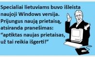Naujoji Windows OS lietuviams.