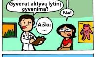 Šokiruojanti gydytojo diagnozė