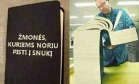Knyga, kurią privalo turėti kiekvienas