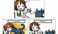Kodėl katinas nėra geriausias žmogaus draugas