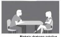 Kontrolinis pasimatymo klausimas