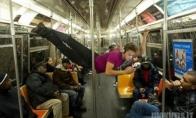 Keisti žmonės viešajame transporte