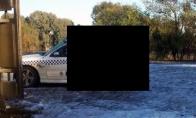 Suplotas policininkų Holden SS Commodore automobilis