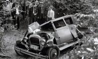 Retro automobilių avarijos