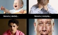 4 žmogaus gyvenimo etapai