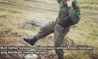 Lietuvos kariuomenės paradoksas