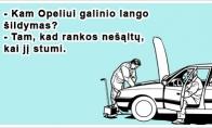 Opelio paslaptis