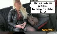 Kai Taxi užsienyje važiuoja lietuvaitė