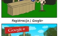 Kaip registruojamės į FB ir kaip į Google+?