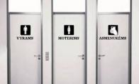 Naudingas pakeitimas viešuosiuose tualetuose