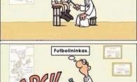 Kaip atpažint futbolininką?