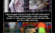 Didvyriškas Ronaldo poelgis