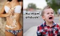 Vienišų mamyčių problemos