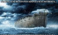 Kas sieja Nojaus laivą ir Lietuvą?