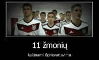 11 prievartautojų