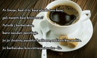 Kaip orus nuspėti pagal kavos burbuliukus?