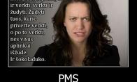 PMS'iniai moterų norai