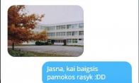 Pragaras - tai žodžio mokykla sinonimas