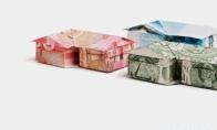 Origamiai iš pinigų