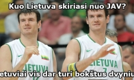 Skirtumas tarp Lietuvos ir JAV