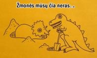 Kaip išmirė dinozaurai?