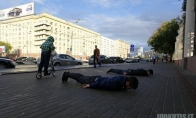 In Soviet Russia planking does you