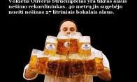Įdomiausi rekordai alkoholio srityje