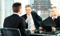 Tipinis pokalbis dėl darbo