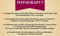 Kaip tampama fotografais?