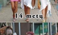 Šiuolaikiškų merginų amžius
