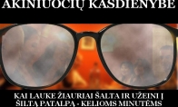 Didžiausia akiniuočių problema žiemą