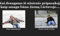 Lietuviškos žiemos ypatumai