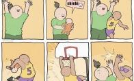 Kai tėvas kašio fanas