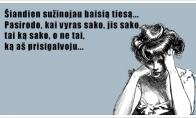 Baisi moteriška tiesa