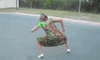 Afigenų šokių GIF rinkinys
