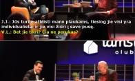 Kaip Landsbergis Jankevičių suvartė