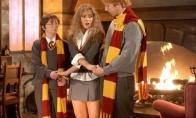 Merginos apsirengusios kaip Hermiona (22 nuotraukos)