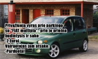 Fiat multipla istorija