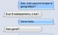 Kam reikalingos geografijos žinios?