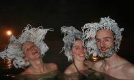 Ledinės kanadiečių šukuosenos