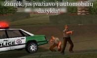 Nepakartojama GTA policininkų logika