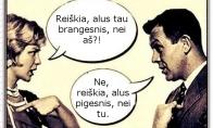 Alaus ir moters santykis