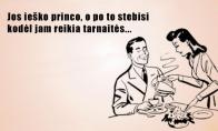 Įspėjimas ieškančioms princo