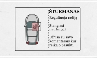 Žmonių pareigos automobilyje