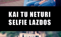 Savadarbė selfie lazda