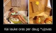 Kaip Lietuviai atostogauja šiomis dienomis