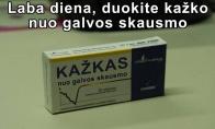 Populiariausia prekė vaistinėse