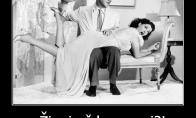 Kai žmona nusipelno gauti per užpakalį