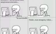 Kai pradedi ieškoti ligos simptomų internete